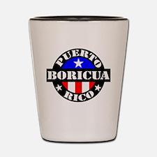 Puerto Rico - Boricua Shot Glass