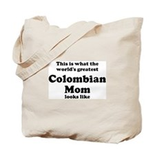 Colombian mom Tote Bag