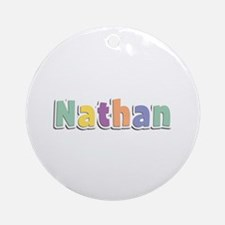 Nathan Spring14 Round Ornament