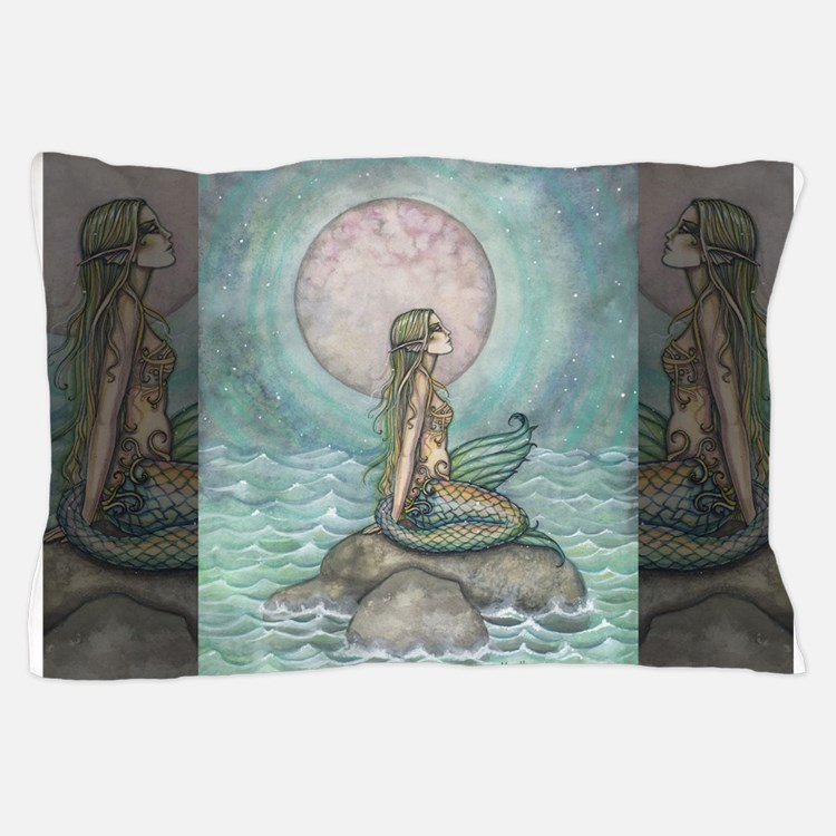 The Pastel Sea Fantasy Art Pillow Case
