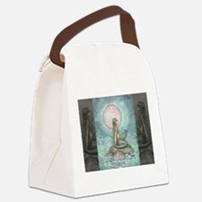 The Pastel Sea Fantasy Art Canvas Lunch Bag
