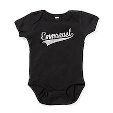 Emmanuel, Retro, Baby Bodysuit