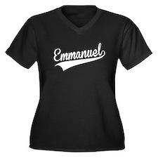 Emmanuel, Retro, Plus Size T-Shirt
