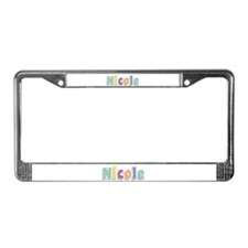 Nicole Spring14 License Plate Frame