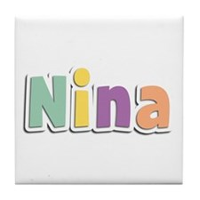 Nina Spring14 Tile Coaster