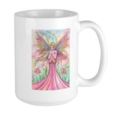 Wildflower Fairy Watercolor Fantasy Art Mug