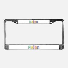 Nolan Spring14 License Plate Frame