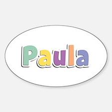 Paula Spring14 Oval Decal