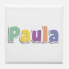 Paula Spring14 Tile Coaster