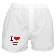 I love manta rays  Boxer Shorts