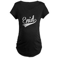 Enid, Retro, Maternity T-Shirt