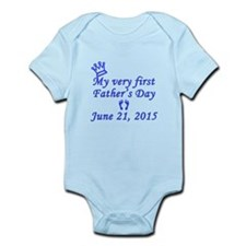 First Father's Day 2015 Infant Bodysuit