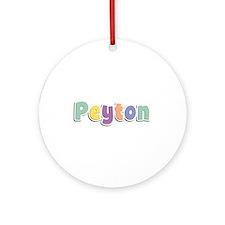 Peyton Spring14 Round Ornament