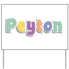 Peyton Spring14 Yard Sign