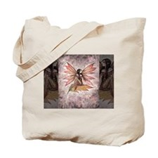 Autumn Drifting Fairy Fantasy Art Tote Bag