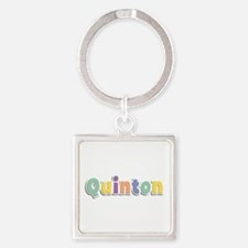 Quinton Spring14 Square Keychain