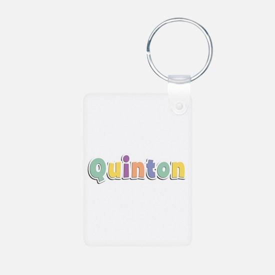 Quinton Spring14 Aluminum Keychain