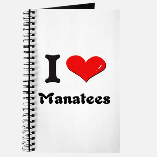 I love manatees Journal