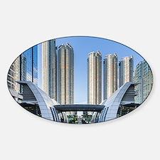 Kowloon Waterfront Hong Kong Stickers