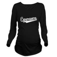 Esperanza, Retro, Long Sleeve Maternity T-Shirt