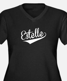 Estelle, Retro, Plus Size T-Shirt