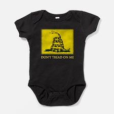Gadsden Flag Baby Bodysuit