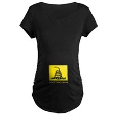 Gadsden Flag Maternity T-Shirt