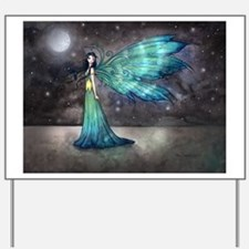 Aquamarine Eve Fairy Fantasy Art by Molly Harrison