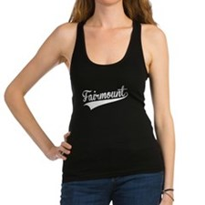 Fairmount, Retro, Racerback Tank Top