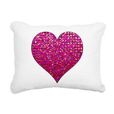 Polkadots Jewels 2 Rectangular Canvas Pillow