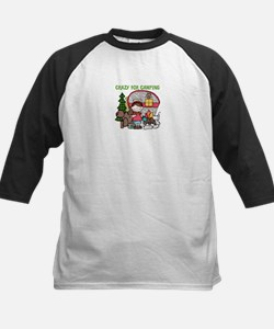 Girl Crazy For Camping Tee