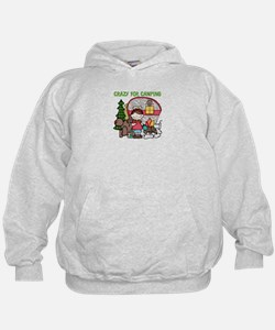 Girl Crazy For Camping Hoodie