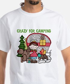 Girl Crazy For Camping Shirt