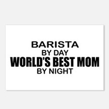 Barista World's Best Mom Postcards (Package of 8)