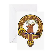 Clan Davidson Pride Greeting Card