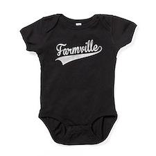 Farmville, Retro, Baby Bodysuit