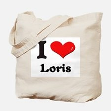I love loris Tote Bag