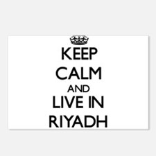 Keep Calm and live in Riyadh Postcards (Package of