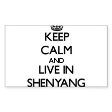 Keep Calm and live in Shenyang Decal