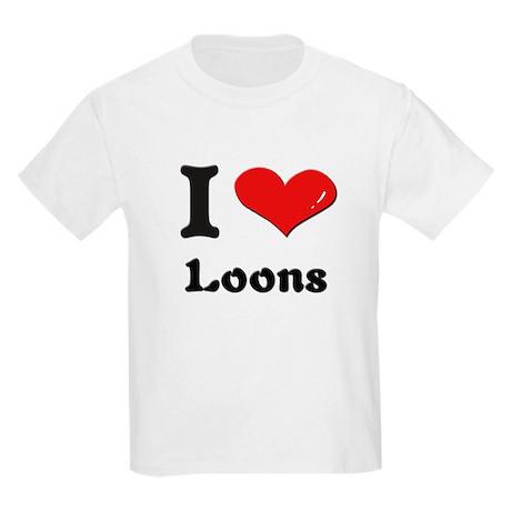 I love loons Kids Light T-Shirt