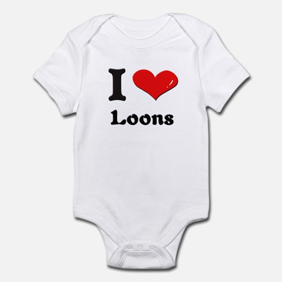 I love loons  Infant Bodysuit