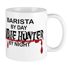 Barista Zombie Hunter by Night Mug