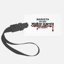 Barista Zombie Hunter by Night Luggage Tag