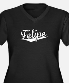 Felipe, Retro, Plus Size T-Shirt