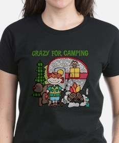Boy Crazy For Camping Tee