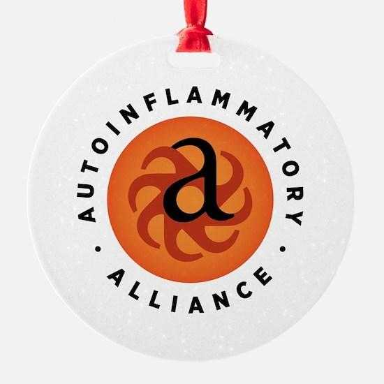 Autoinflammatory Alliance Logo Ornament