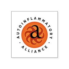 Round Autoinflammatory Alliance Logo Sticker