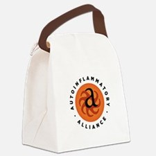 Round Autoinflammatory Alliance Canvas Lunch Bag