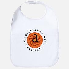 Round Autoinflammatory Alliance Logo Bib