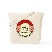 Electric Living Tote Bag